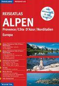 Reiseatlas Alpen, Provence, Cote d' Azur, Norditalien, Europa