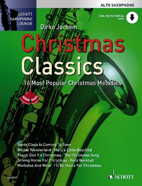 Christmas Classics, Alto Saxophone, w. Audio-CD