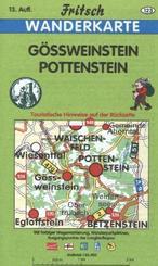 Fritsch Karte - Gößweinstein, Pottenstein