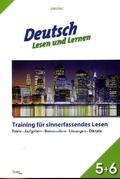 Deutsch - Lesen und Lernen, Klasse 5+6