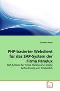 PHP-basierter Webclient für das SAP-System der Firma Panelux (eBook, PDF)