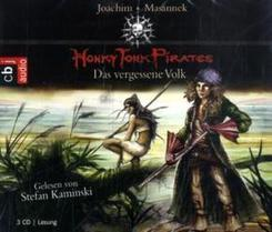 Honky Tonk Pirates - Das vergessene Volk, 3 Audio-CDs