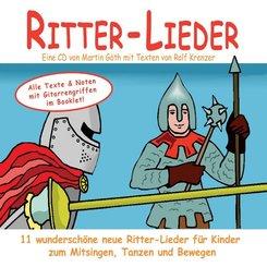 Ritter-Lieder, 1 Audio-CD