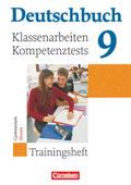 Deutschbuch - Trainingshefte zu allen allgemeinen Ausgaben/Gymnasium: 9. Schuljahr, Klassenarbeiten/Kompetenztests, Gymnasium Hessen