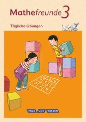 Mathefreunde, Ausgabe Nord/Süd: 3. Schuljahr, Tägliche Übungen