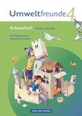 Umweltfreunde, Ausgabe Sachsen-Anhalt (Neubearbeitung 2009): 4. Schuljahr, Arbeitsheft