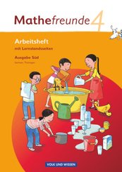 Mathefreunde, Ausgabe Süd: 4. Schuljahr, Arbeitsheft