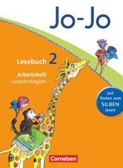 Jo-Jo Lesebuch, Allgemeine Ausgabe 2011: 2. Schuljahr, Arbeitsheft Lesestrategien