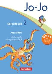 Jo-Jo Sprachbuch, Allgemeine Ausgabe, Neubearbeitung: 2. Schuljahr, Arbeitsheft in Lateinischer Ausgangsschrift