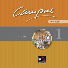 Campus. Palette, Ausgabe B und C: Prüfungen - Tl.1