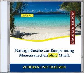 Naturgeräusche zur Entspannung - Meeresrauschen ohne Musik, 1 Audio-CD