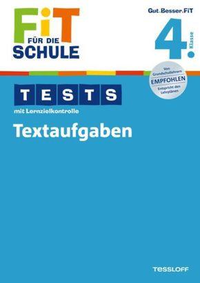 Tests mit Lernzielkontrolle, Textaufgaben 4. Klasse