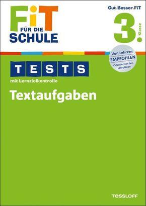 Tests mit Lernzielkontrolle, Textaufgaben 3. Klasse