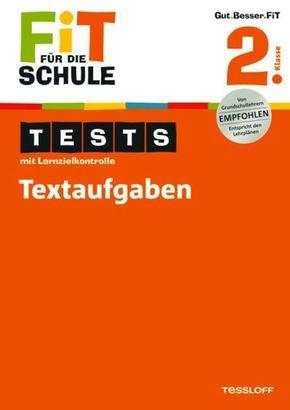 Tests mit Lernzielkontrolle, Textaufgaben 2. Klasse