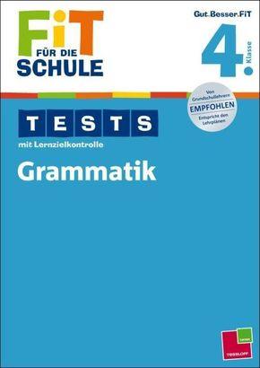 Tests mit Lernzielkontrolle, Grammatik 4. Klasse
