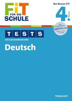 Tests mit Lernzielkontrolle, Deutsch 4. Klasse