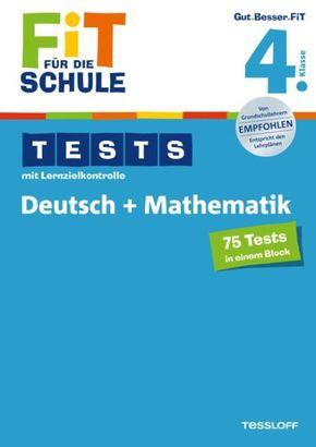 Tests mit Lernzielkontrolle, Deutsch + Mathematik 4. Klasse