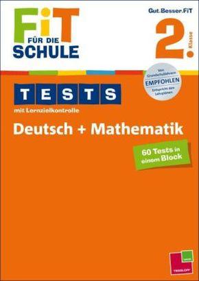 Tests mit Lernzielkontrolle, Deutsch + Mathematik 2. Klasse