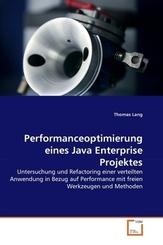 Performanceoptimierung eines Java Enterprise Projektes (eBook, 15x22x0,6)