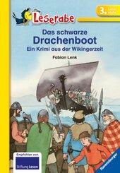Das schwarze Drachenboot - Leserabe 3. Klasse - Erstlesebuch für Kinder ab 8 Jahren