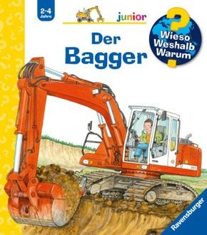 Der Bagger - Wieso? Weshalb? Warum?, Junior Bd.38