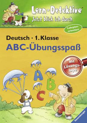 Lern-Detektive - Lernspiel; ABC-Übungsspaß, Deutsch 1. Klasse