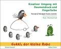 Kreativer Umgang mit Daumendruck und Fingerfarbe - Parmak Izi Teknigiyle Yaratici Cizimler