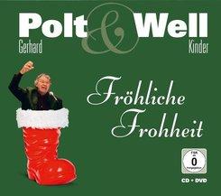 Gerhard Polt & Well Kinder, Fröhliche Frohheit, 1 Audio-CD + 1 DVD
