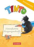 TINTO, Neubearbeitung: 1./2. Schuljahr, Schreiblehrgang in Vereinfachter Ausgangsschrift, Blaue und Grüne Ausgabe