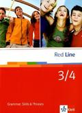 Red Line: Klasse 7/8, Grammar, Skills & Phrases; Bd.3/4