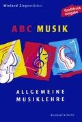 ABC Musik, Allgemeine Musiklehre, Großdruckausgabe