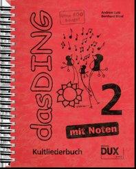 Das Ding - mit Noten - Bd.2