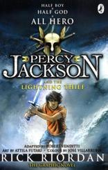 Percy Jackson and the Lightening Thief, The Graphic Novel