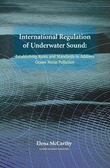 International Regulation of Underwater Sound