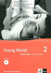 Young World: English Class 4, Teacher's Book m. CD-ROM