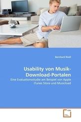 Usability von Musik-Download-Portalen (eBook, PDF)