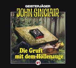 Geisterjäger John Sinclair - Die Gruft mit dem Höllenauge, 1 Audio-CD