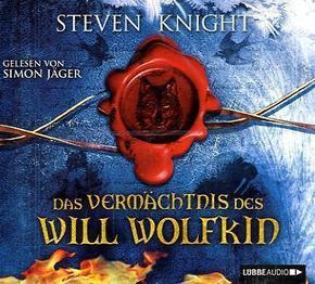 Das Vermächtnis des Will Wolfkin, 4 Audio-CDs