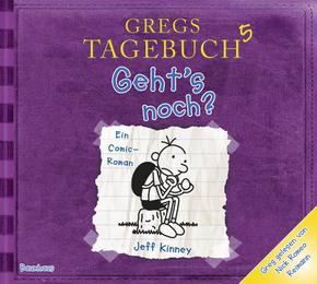Gregs Tagebuch - Geht's noch?, 1 Audio-CD