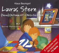 Lauras Stern - (Neue) Gutenacht-Geschichten, 2 Audio-CDs - Folge.1 und 2