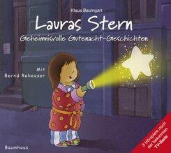 Lauras Stern - Geheimnisvolle Gutenacht-Geschichten, Audio-CD