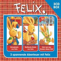 Felix Hörspielbox, 3 Audio-CDs - Vol.2