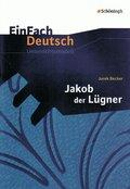 """Jurek Becker """"Jakob der Lügner"""""""