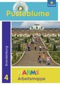 Pusteblume, Das Sachbuch, Ausgabe 2010 Berlin, Brandenburg und Mecklenburg-Vorpommern: 4. Schuljahr, Arbeitsmappe (Brandenburg)