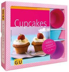 Cupcakes Set, m. 12 Silikonbackförmchen