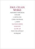 Werke: Nachgelassene Gedichte 1963-1968; Abt.1; Bd.13