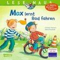 Max lernt Rad fahren