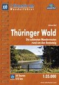 Hikeline Wanderführer Thüringer Wald