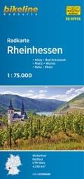 Bikeline Radkarte Rheinhessen