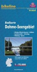 Bikeline Radkarte Dahme-Seengebiet
